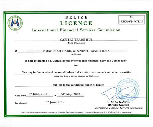 capital trade hub review capital trade hub company license